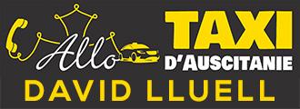 ALLO TAXI D'AUSCITANIE – David Lluell Logo